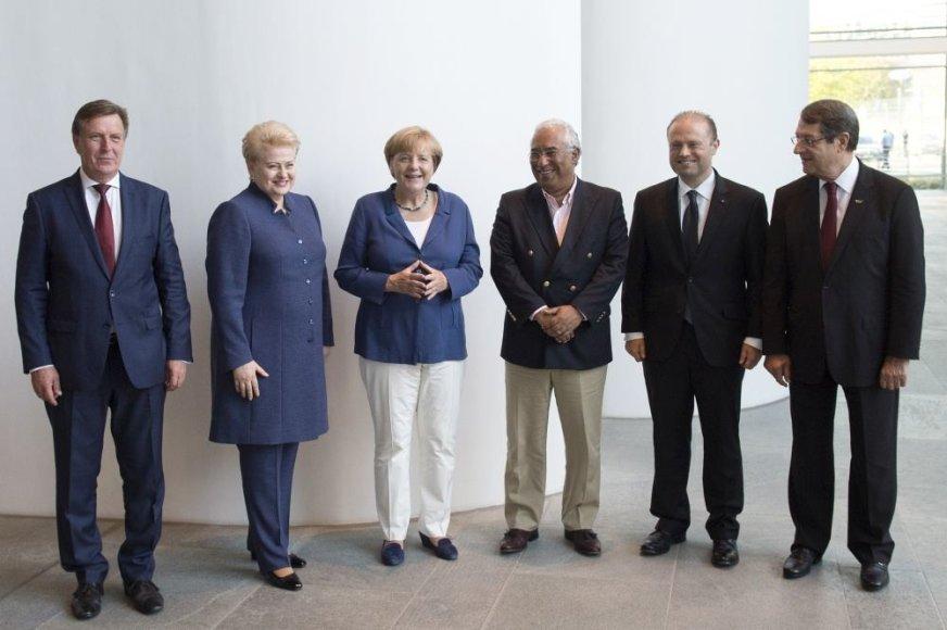 Dalia Grybauskaitė susitiko su Angela Merkel
