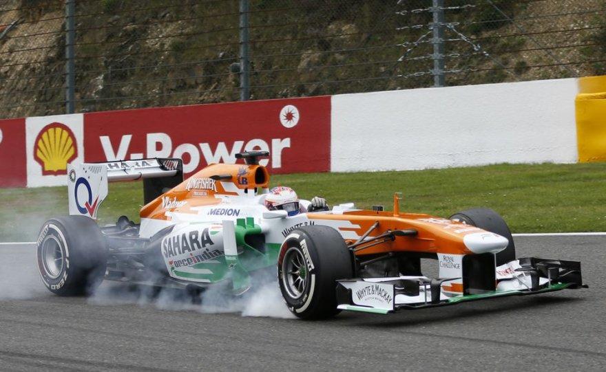 F-1 Belgijos lenktynių kvalifikacija