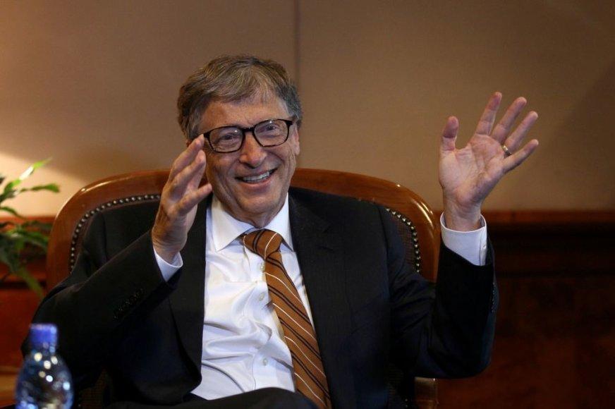 """""""Microsoft"""" įkūrėjas Billas Gatesas"""