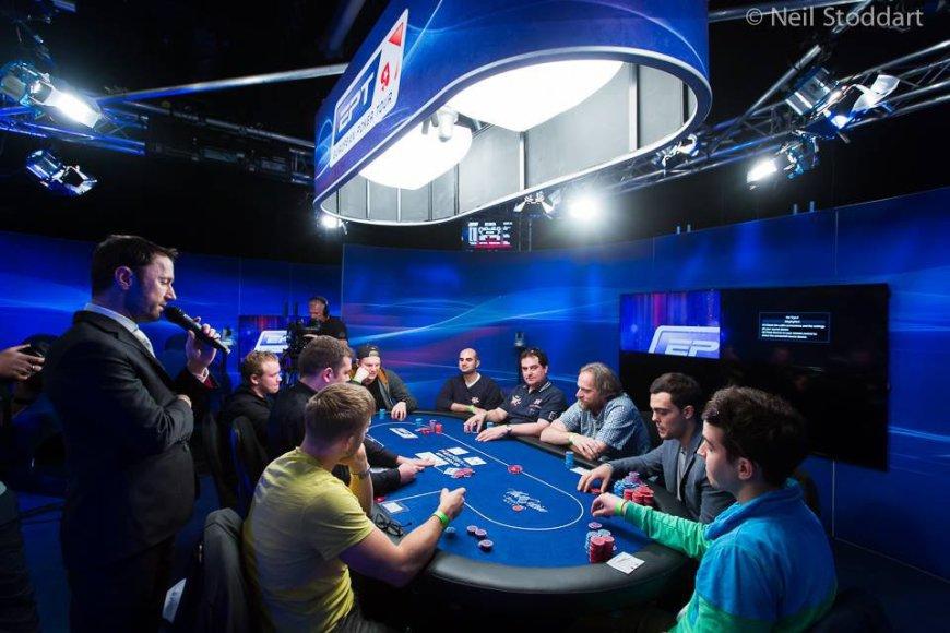 Europos pokerio turo (EPT) stalas