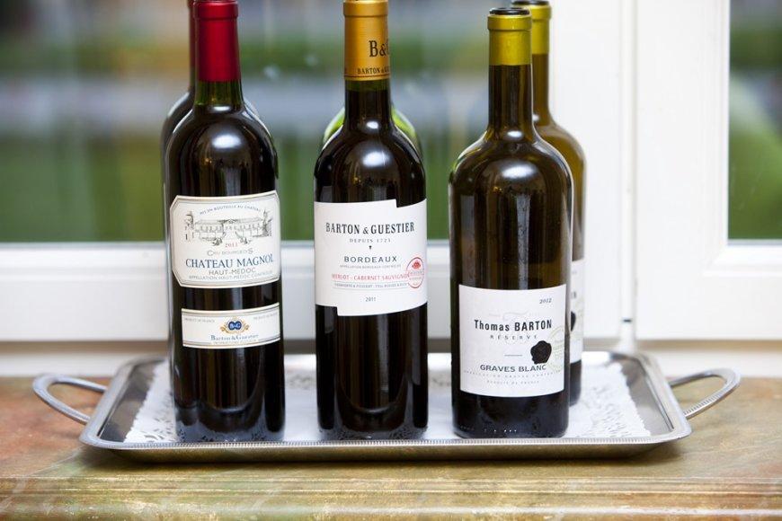 Vyno buteliai