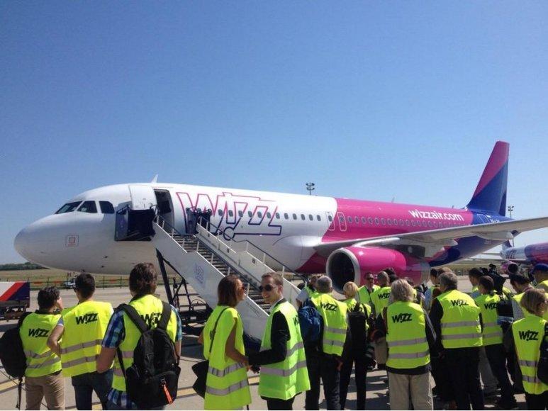 """""""Wizz Air"""" gegužės 19-ąją mini įmonės gimtadienį"""