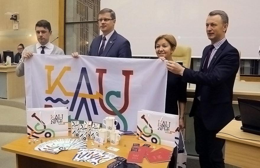 Kauno prekės ženklo pristatymas