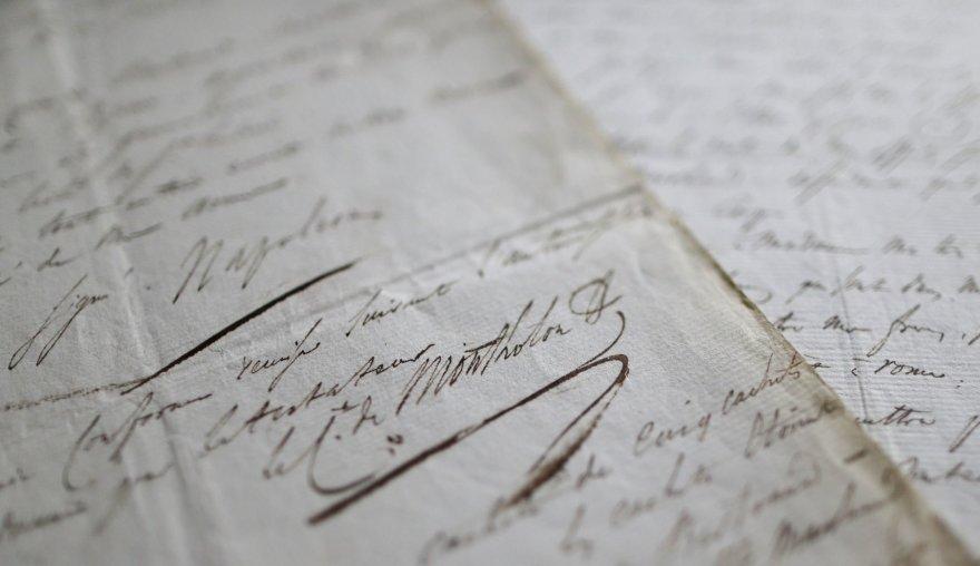 Napoleono testamento kopija