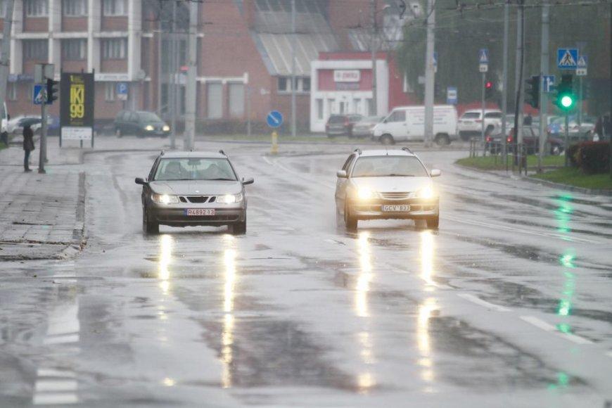 Lietingas šeštadienis Vilniuje
