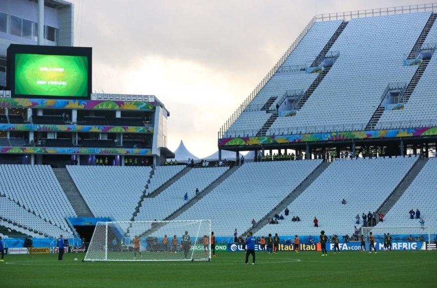 Brazilijoje nekantriai laukiama futbolo čempionato atidarymo