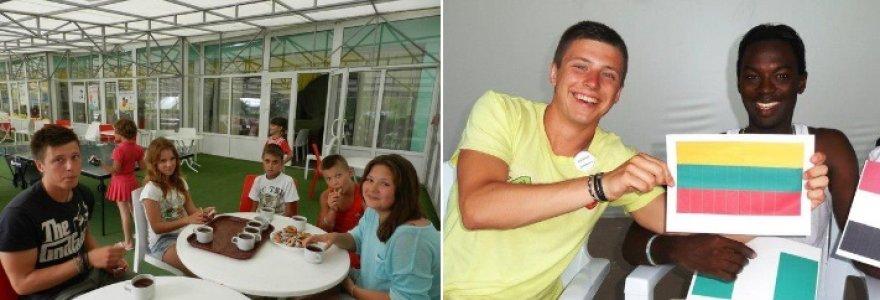 Užsienyje stažavęsis studentas Marius