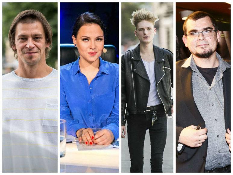 Donatas Ulvydas, Justė Arlauskaitė-Jazzu, Benas Aleksandravičius ir Emilis Vėlyvis