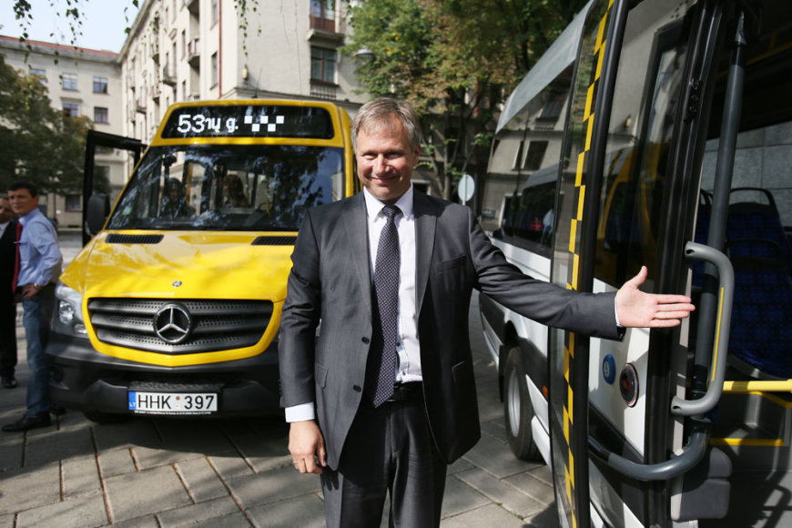 Mikroautobusų pristatymas