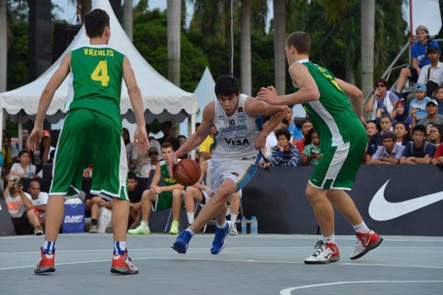 Lietuvos jaunieji krepšininkai pralaimėjo argentiniečiams
