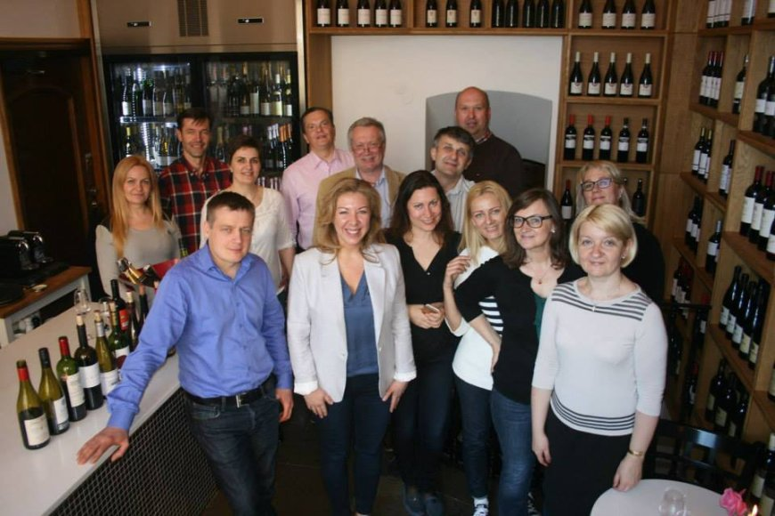 Lietuvių verslo ir profesionalų klubo Stokholme nariai