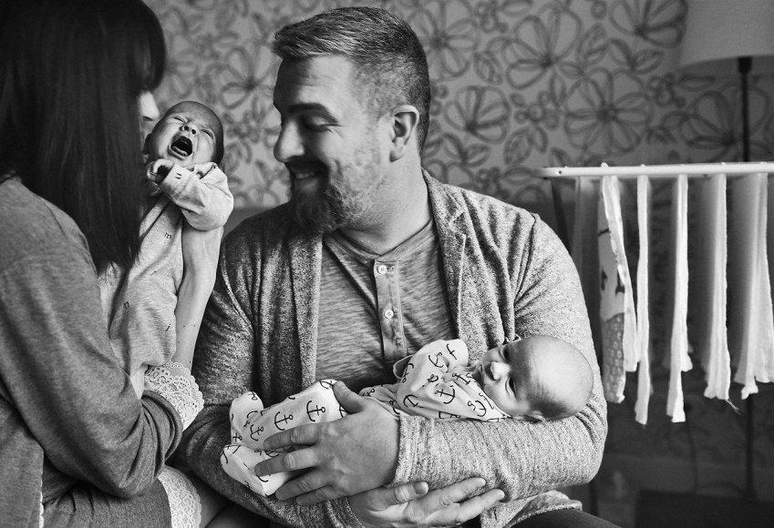 Viktorijos Vaišvilaitės-Skirutienės nuotr./Katažinos ir Deivydo Zvonkų šeimos fotosesija