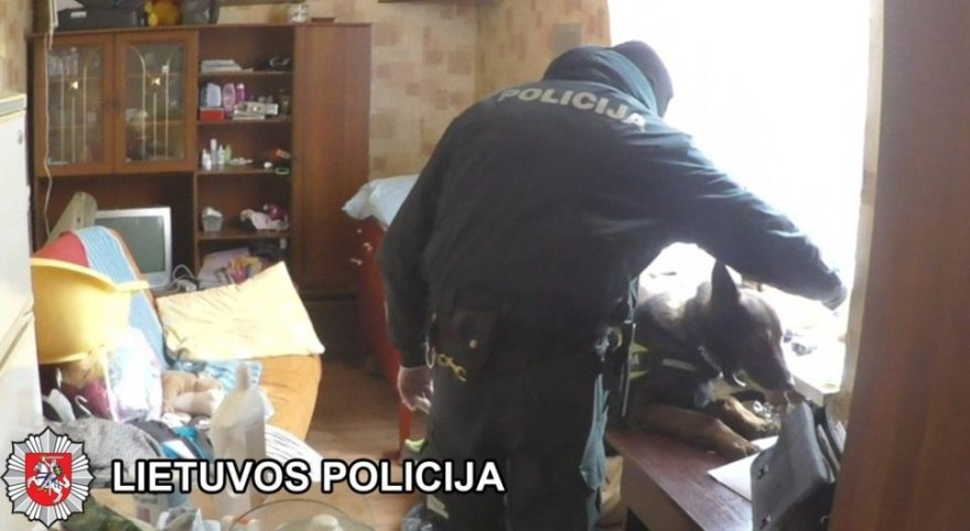 Pareigūnai sudavė skaudų smūgį romų tautybės narkotikų platintojams Klaipėdos Žvejybos rajone.