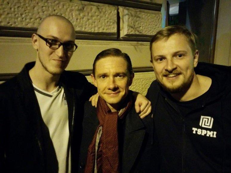 Martynas Šimulis, Martinas Freemanas ir Paulius Ambrazevičius