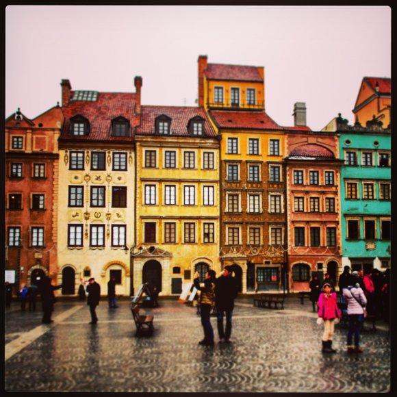 Kalėdinė Varšuva 2013