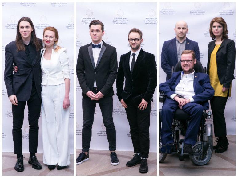 Saulius Baradinskas ir Beata Tiškevič, Darius Matas ir Dominykas Vaitiekūnas, Justas Džiugelis