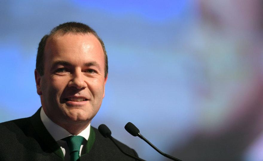 "AFP/""Scanpix"" nuotr./EPP vadovas Manfredas Weberis"