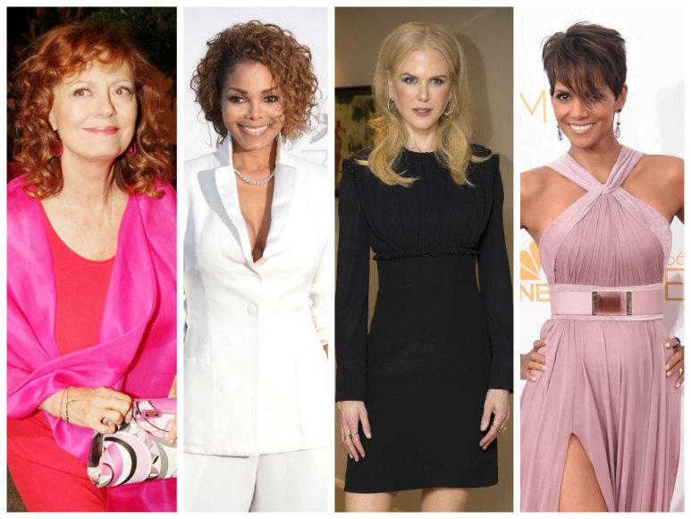 Susan Sarandon, Janet Jackson, Nicole Kidman ir Halle Berry