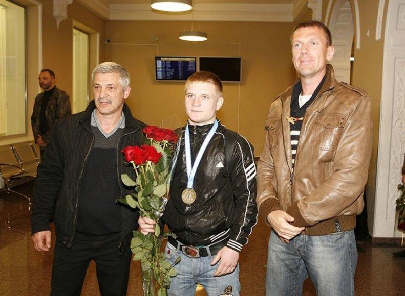 Vladimiras Bajevas, Evaldas Petrauskas ir LBF prezidentas