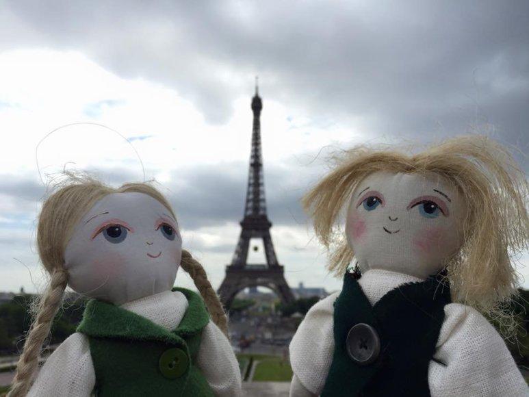 Joniukas ir Onytė Paryžiuje