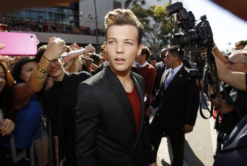 """Louisas Tomlinsonas iš """"One Direction"""""""