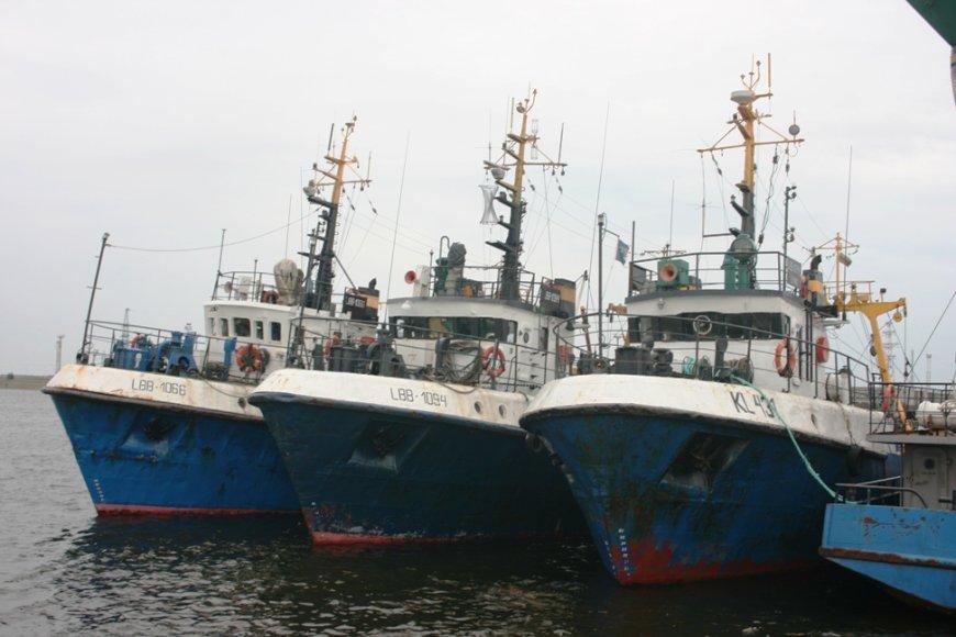 vejų laivynas - beviltiškai susenęs.