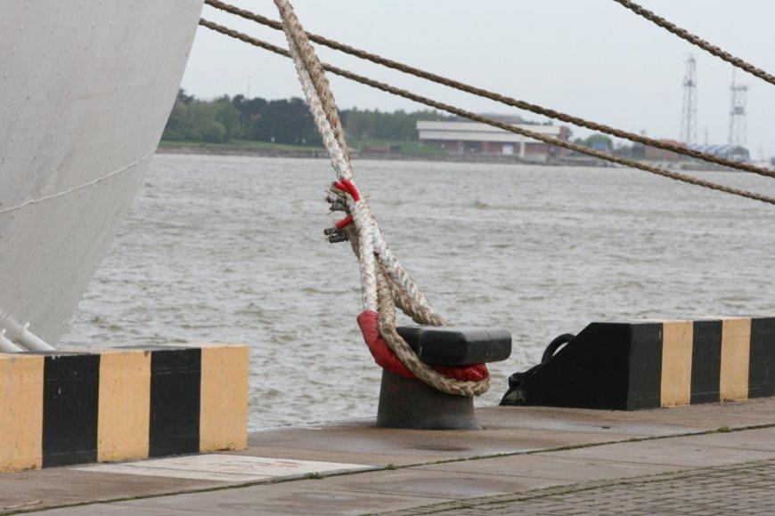 """Kruizinis laivas """"Princess  Daphne"""" Klaipėdos uoste"""