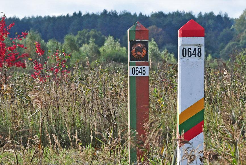 Valstybės siena su Baltarusija