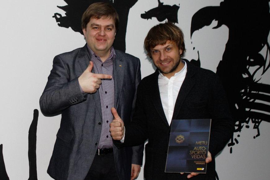 Iš kairės: Donatas Večerskis ir Benediktas Vanagas