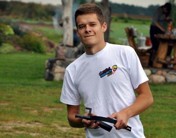 Konkurso nugalėtojas Edvinas Svirplys
