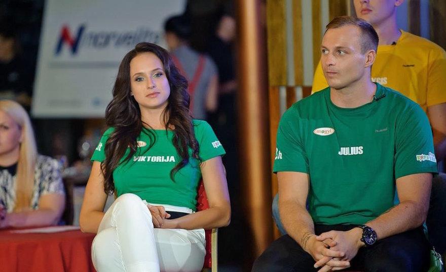 Julius Mocka ir Viktorija Šaulytė