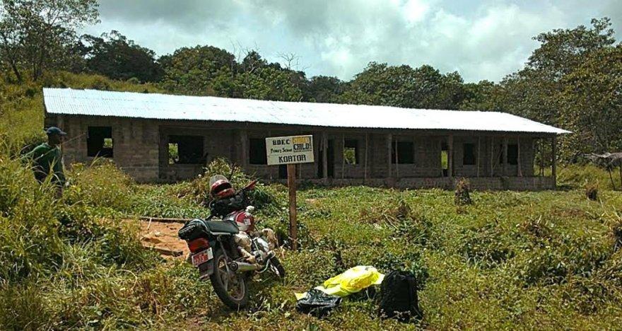 Mokyklos statybos Kortor kaime jau baigtos