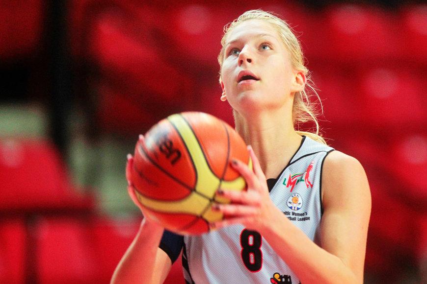 """Vilniaus """"Kibikšties Viči"""" komanda  BWBL čempionate įveikė Minsko """"Horizont"""" – Greta Šniokaitė"""