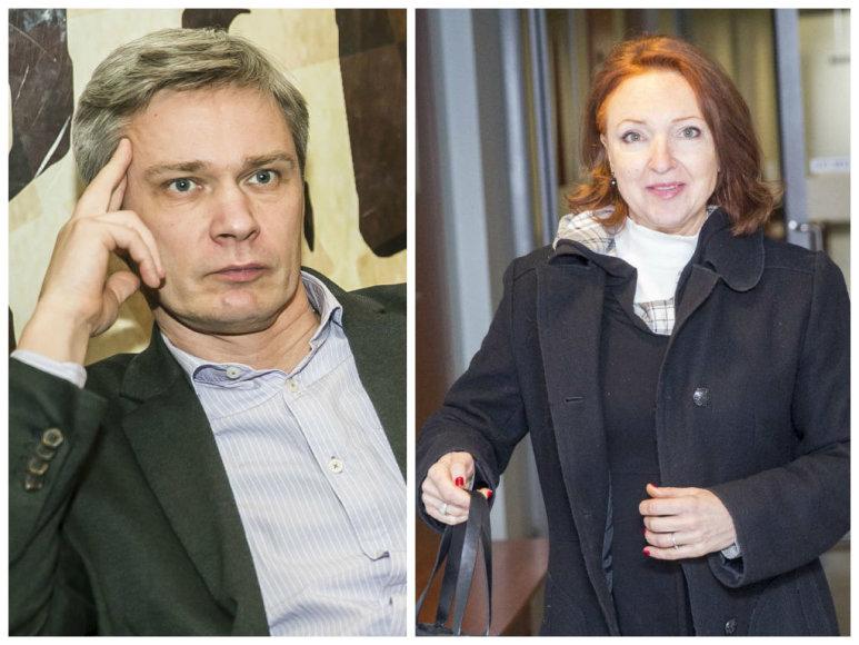 Rimvydas Paleckis ir Asta Baukutė