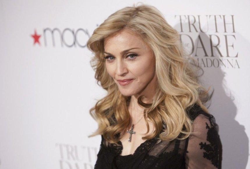 Madonna švenčia 55-ąjį gimtadienį