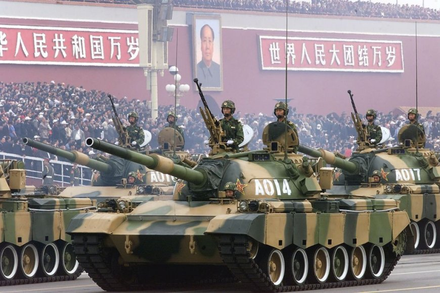 Pagrindinis Liaudies išsivadavimo armijos tankas Type-88
