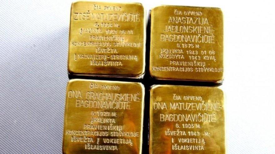 """""""Atminimo akmenys"""" Panevėžyje primins apie romų holokaustą"""