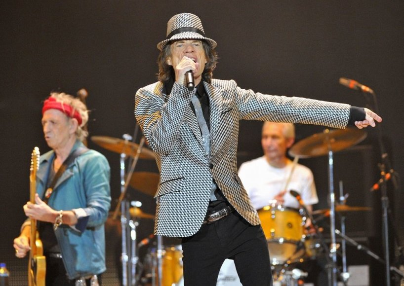 """The Rolling Stones"" 50-mečio koncertas Londone"