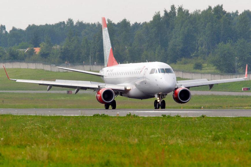 """""""Air Lituanica"""" lėktuvas """"Embraer 170"""""""