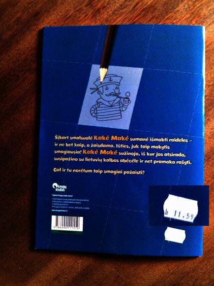 """Knygyne """"Pegasas"""" ne visos kainos nurodytos eurais, o kaina ant knygų viršelių ir kompiuterinėje sistemoje skiriasi."""