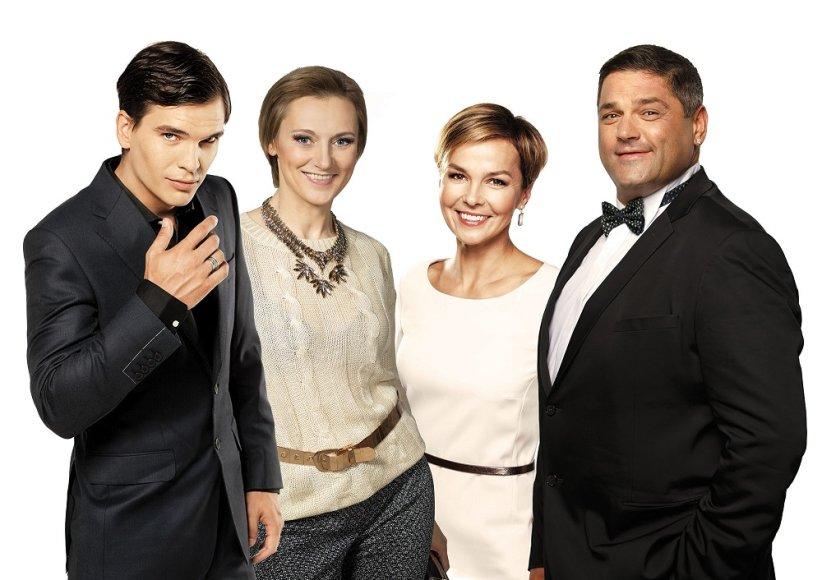 Vitalija Mockevičiūtė, Mindaugas Papinigis, Audrė Kudabienė ir Vitalijus Cololo