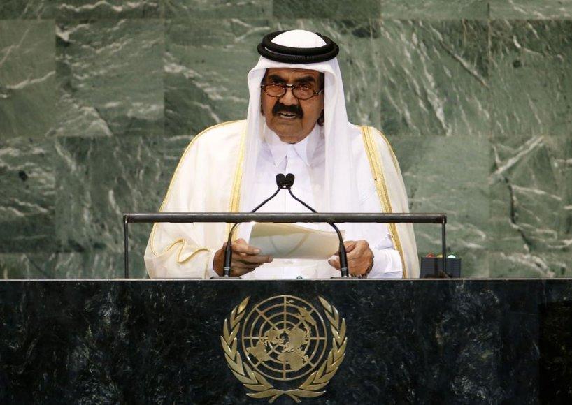 Kataro šeichas Hamadas Bin Khalifa Al Thani