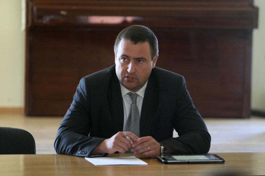 Policijos generalinio komisaro pavaduotojas Rentas Požėla