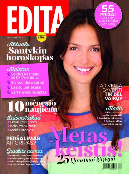 """Žurnalo """"Edita"""" archyvo nuotr. / 2014 m. / Nr. 2"""