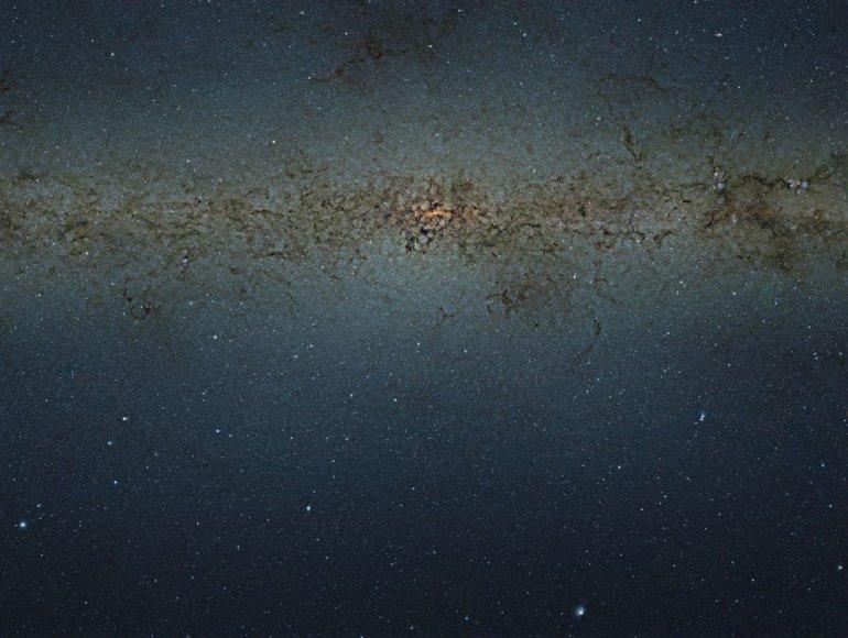 Tai – didžiausia, giliausia ir ryškiausia spalvota fotografija, kurioje matyti per 84 mln. žvaigždžių.