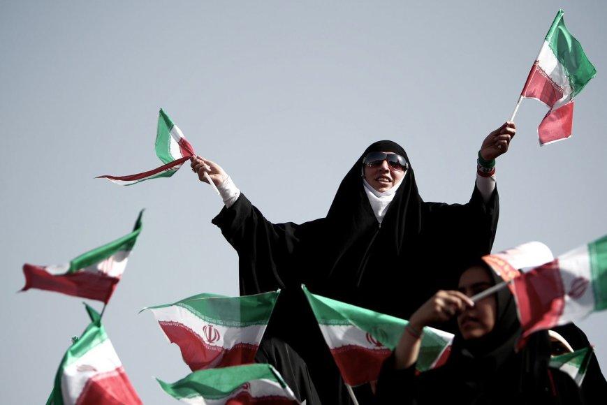 Irano vyriausybės rėmėja Teherane
