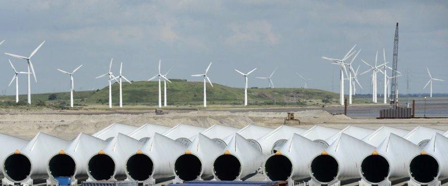 Vėjo jėgainių mentės