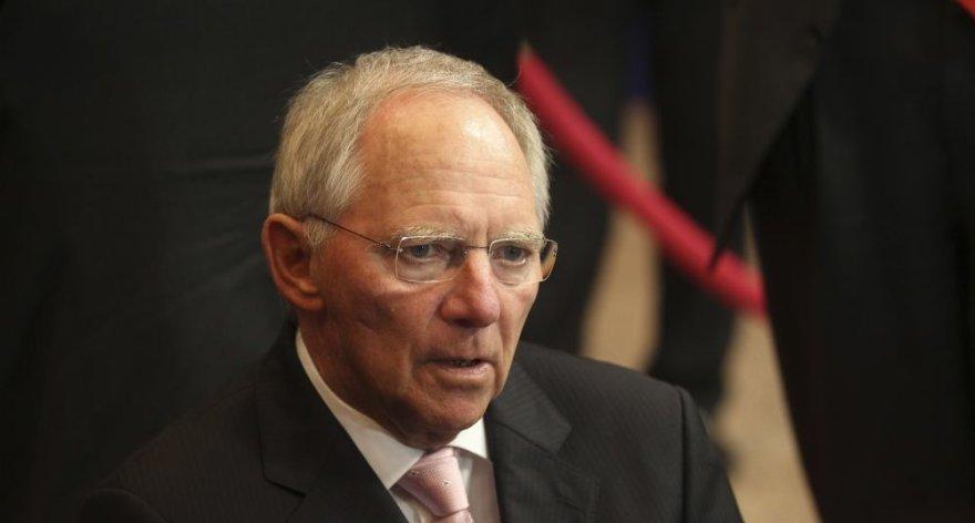 Vokietijos finansų ministras Wolfgangas Schaeuble