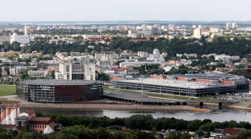 """Trikampis: Kauno """"Akropolis"""", """"Žalgirio"""" arena ir viešbutis """"Respublika"""""""