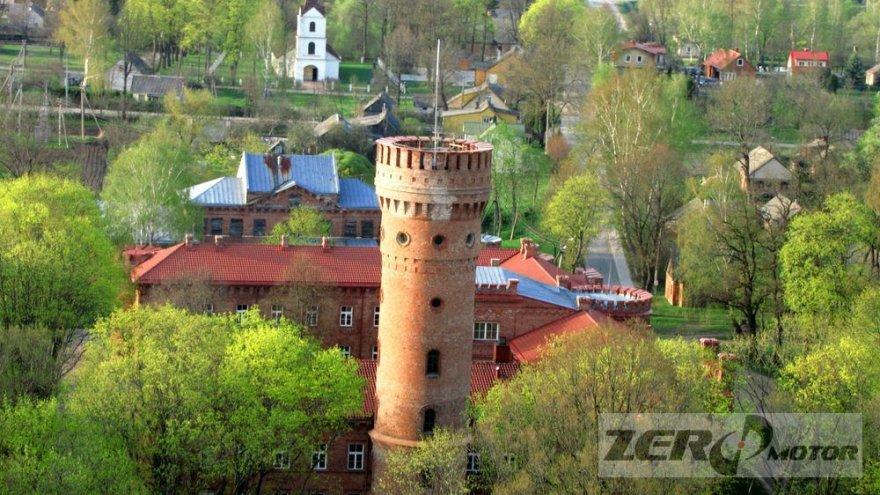 Lietuva iš oro: Raudonės pilis